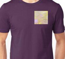Serenity Prayer Vinca on Stones Unisex T-Shirt