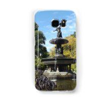 Bethesda Fountain, Autumn Colors, Central Park, New York City Samsung Galaxy Case/Skin