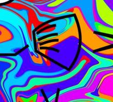 Colorful Pufferfish Sticker