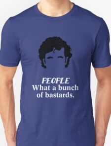 IT Crowd - What a Bunch of Bastards Unisex T-Shirt