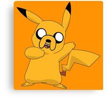 Jake the Pikachu Canvas Print