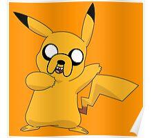 Jake the Pikachu Poster
