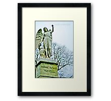 Prepare to Meet THY GOD! Framed Print