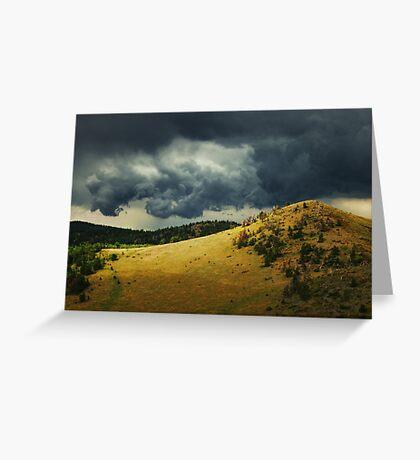Thunder Rising  Greeting Card