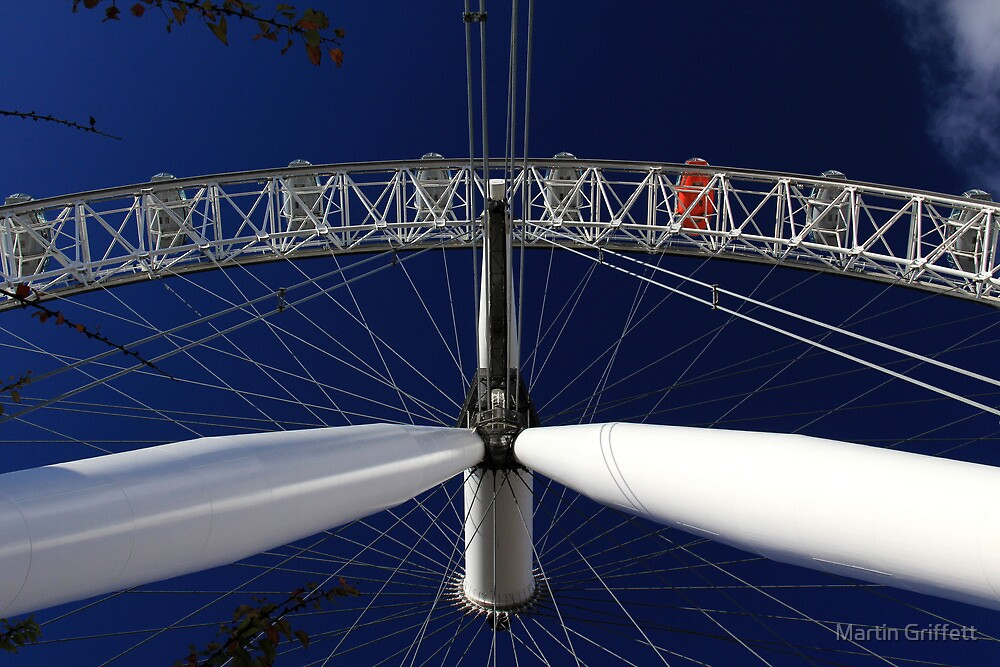 London Eye by Martin Griffett