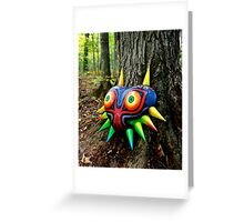 Majora's Mask Papercraft Greeting Card