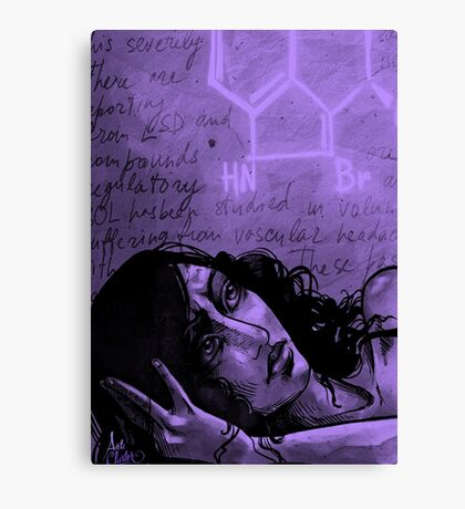 Hope (Purple Edition) Canvas Print