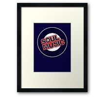 Soul Music fist Framed Print