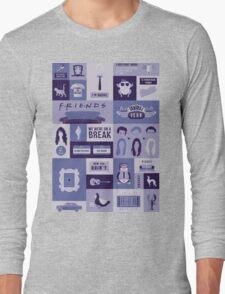 Friends TV Show Long Sleeve T-Shirt