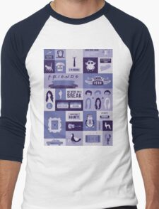 Friends TV Show Men's Baseball ¾ T-Shirt