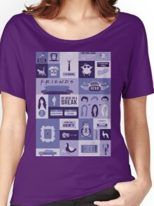Friends TV Show Women's Relaxed Fit T-Shirt