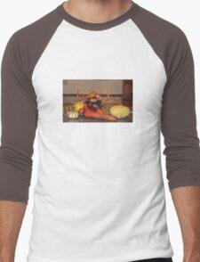 Fall Harvest Display Men's Baseball ¾ T-Shirt