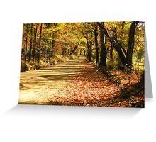 Fall in the Ozark Hills Greeting Card