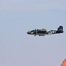 B 24J Mitchell with Open Bomb Bay Doors by Buckwhite