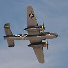 B 24J Mitchell Bomber by Buckwhite