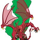 Jersey Devil Charge by monsterfink