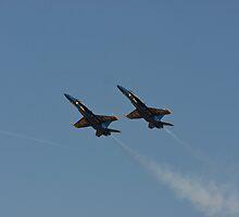 Blue Angels - High Alpha Pass by Buckwhite