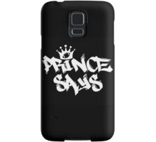 Prince Says Podcast Gear Samsung Galaxy Case/Skin