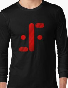 Visitor Symbol (Classic 'V') Long Sleeve T-Shirt