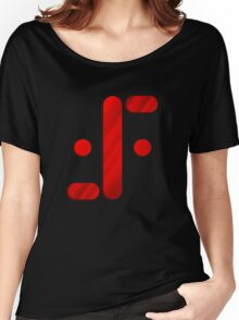 Visitor Symbol (Classic 'V') Women's Relaxed Fit T-Shirt