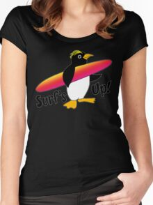 Surf's Up! Women's Fitted Scoop T-Shirt