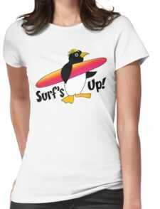 Surf's Up! Womens Fitted T-Shirt