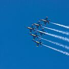Blue Angels - Delta Formation by Buckwhite