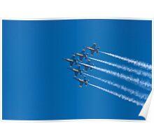Blue Angels - Delta Formation Poster