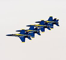 Blue Angels by Buckwhite