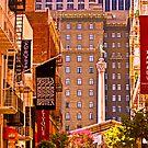 Union Square  - San Francisco by Buckwhite
