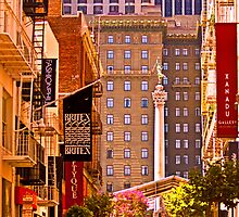 Union Square  - San Francisco by Buckwhite