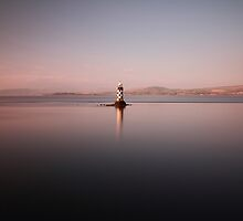 Port Glasgow Lighthouse by Maria Gaellman
