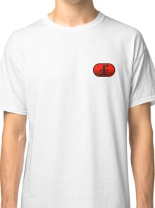 Visitor Symbol (Classic 'V') Small Badge Classic T-Shirt