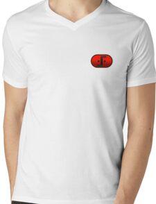 Visitor Symbol (Classic 'V') Small Badge Mens V-Neck T-Shirt