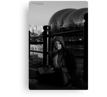 Homelessness and the Arts Canvas Print