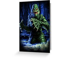 Legend of the Black Lagoon Greeting Card