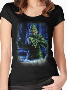Legend of the Black Lagoon Women's Fitted Scoop T-Shirt
