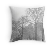 New York City Winter Throw Pillow