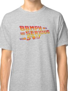 Back To the Future! 88 MPH! Classic T-Shirt