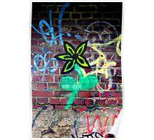 Concrete Flower Poster