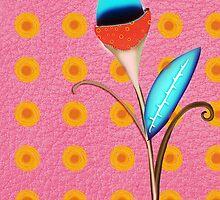 Blue flower by rupydetequila