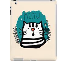 Meow Meow iPad Case/Skin