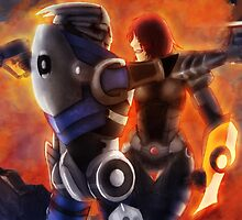 No Shepard without Vakarian  by Meghan Hounsell