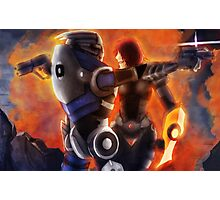 No Shepard without Vakarian  Photographic Print
