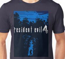 Resident Evil 4 Blue European Style Unisex T-Shirt