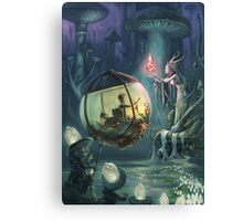 The Mushroom Fairy Canvas Print