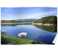 Lake Fontana North Carolina Poster
