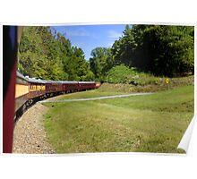 Great Smoky Mountain Railroad Poster