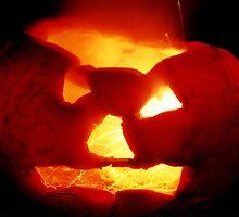 Happy Halloween Pumpkin 4: Sparks Fly by Steve