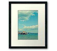 Chowder Bay Framed Print